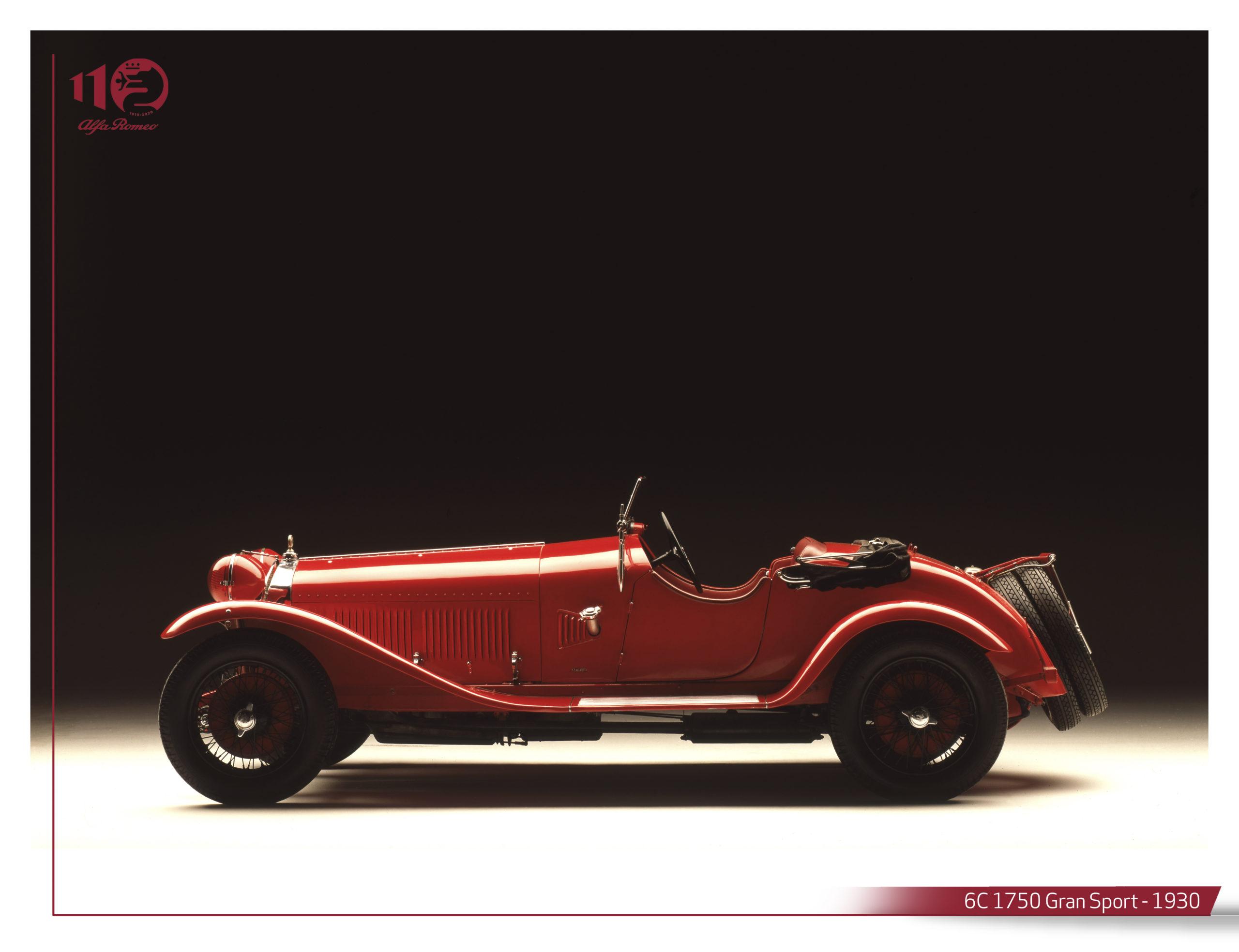 L'Alfa Romeo 6C 1750 domine son époque et anticipe l'avenir