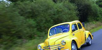 Renault 4 CV découvrable 1955