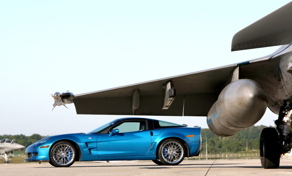 Insolite : Corvette C6 ZR1