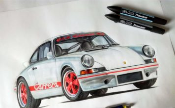 Porsche 2.7 RS le mythe