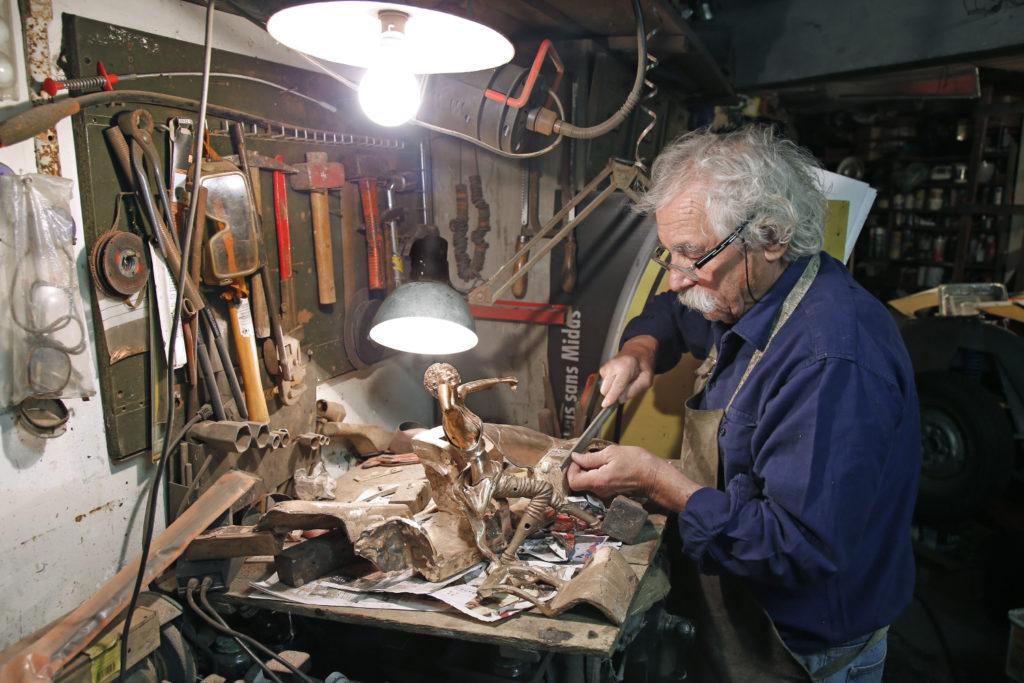 Alain Moitrier, artiste passionné par la vitesse