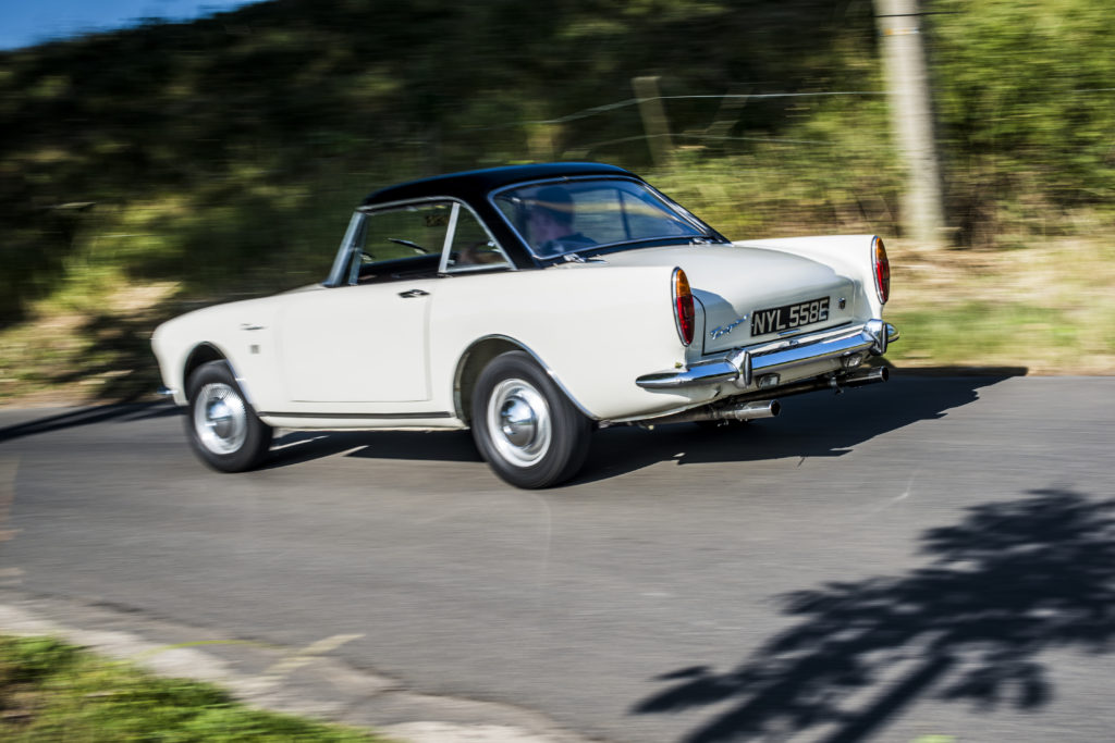 Sunbeam Tiger, l'étonnante