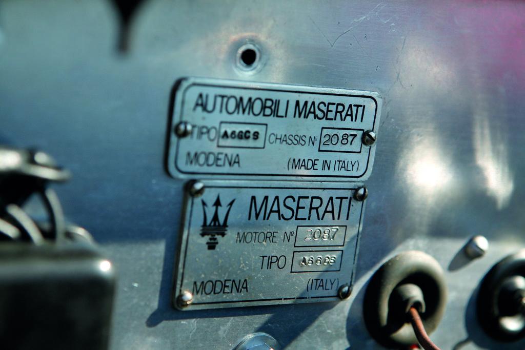 Maserati A6 GCS de 1955, la Bella Machina