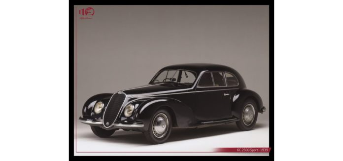 Alfa Romeo 6C 2500, la plus belle