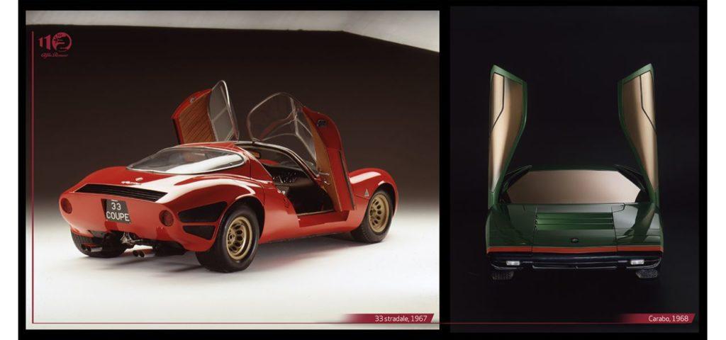 Alfa Romeo, 33 Stradale, Carabo et Montreal, les contours d'une révolution