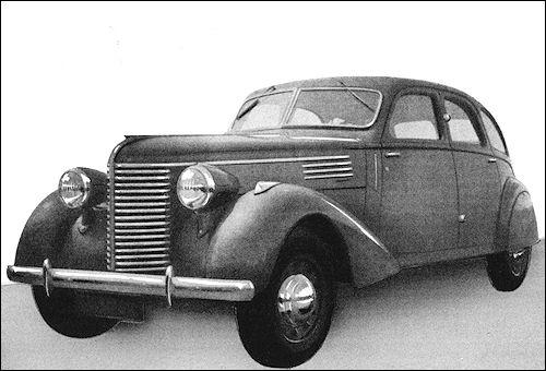 BERLIET DAUPHINE (1938 – 1939) - Les dernières voitures lyonnaises.