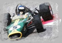 Art : la Formule 1, robes et silhouettes