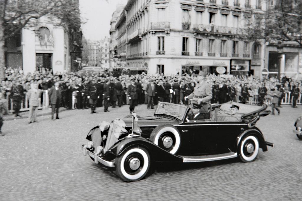 La Horch 830 du Général De Gaulle