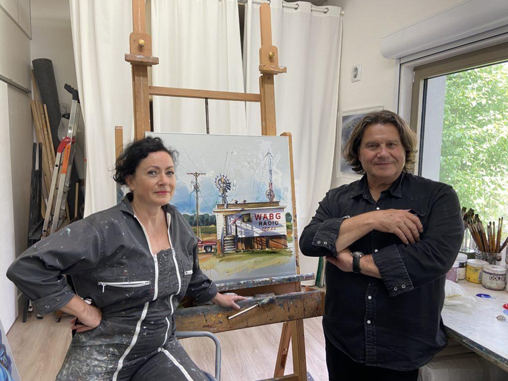 Art : Sandrine Blondel, celle qui peint la mécanique