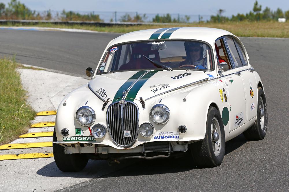 Jaguar MKII 3,8 litres 1962 Préparation Racing