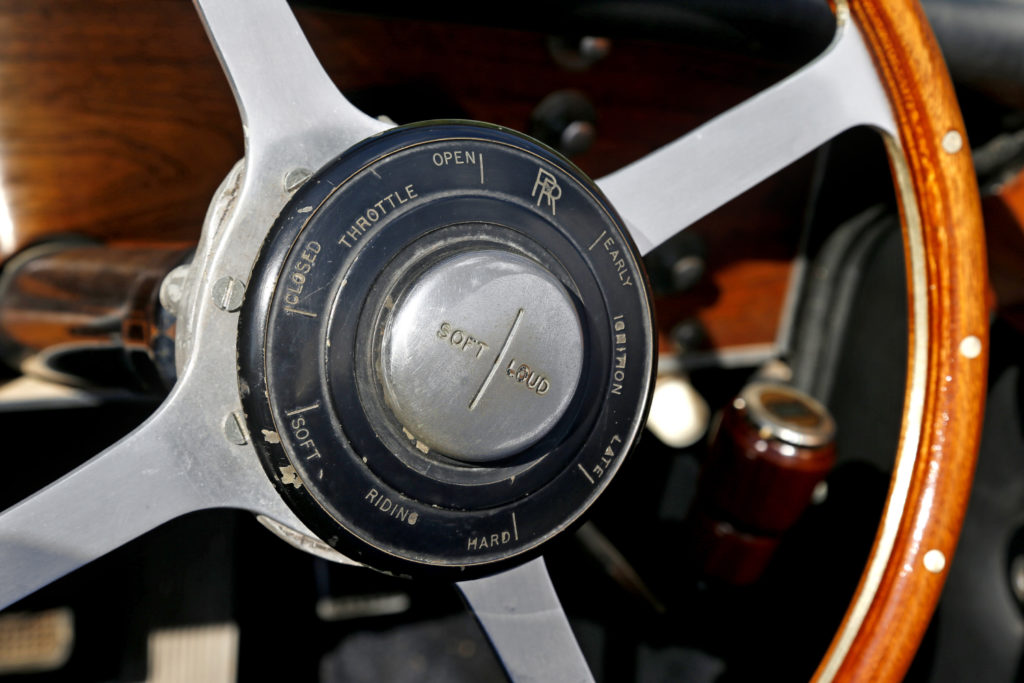 Rolls-Royce 25/30 de 1937, bizarrerie américaine