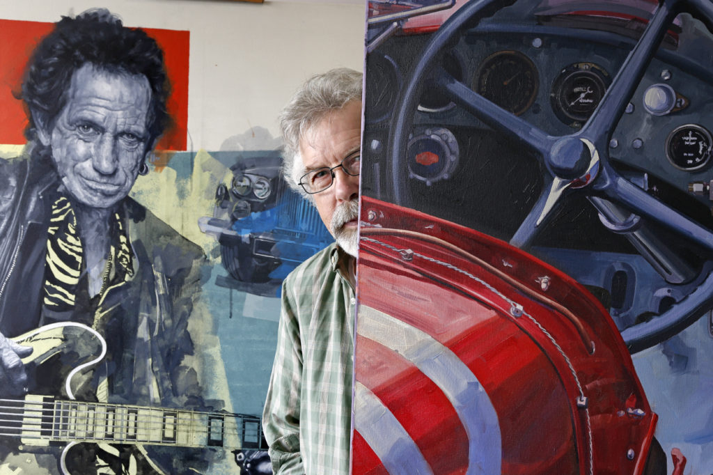 Stanley Rose, peint le blues et l'automobile