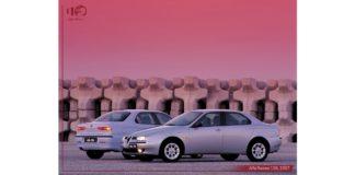 Alfa Romeo 156, la voiture de l'année 1998