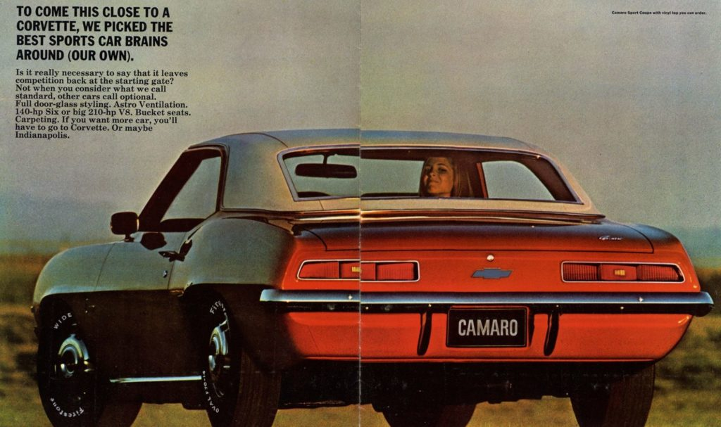 CHEVROLET CAMARO -Kill the Mustang