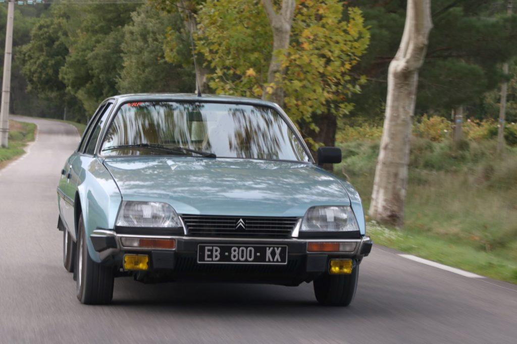 Citroën CX GTI, le vaisseau amiral