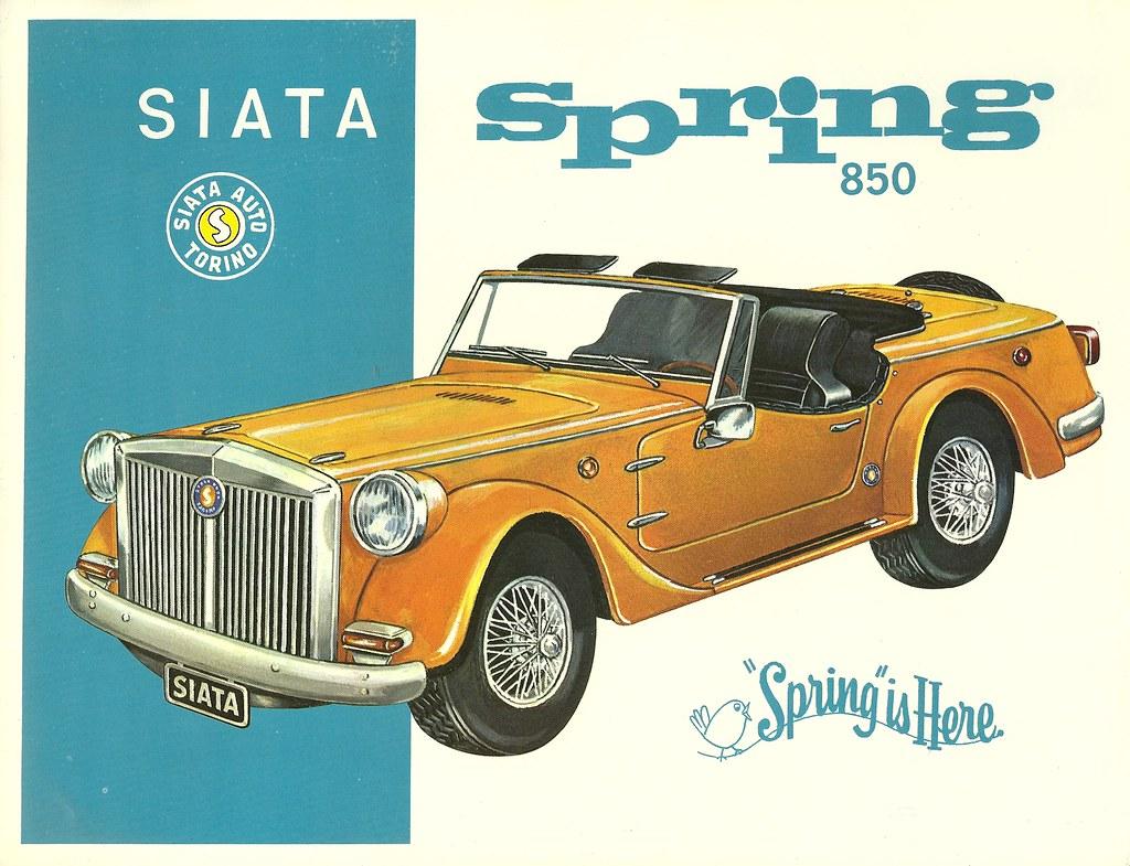 SIATA SPRING - Nostalgie anglaise à l'italienne.