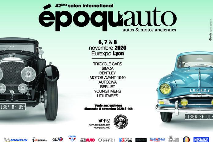 Salon Epoqu'Auto, 6,7,8 novembre 2020