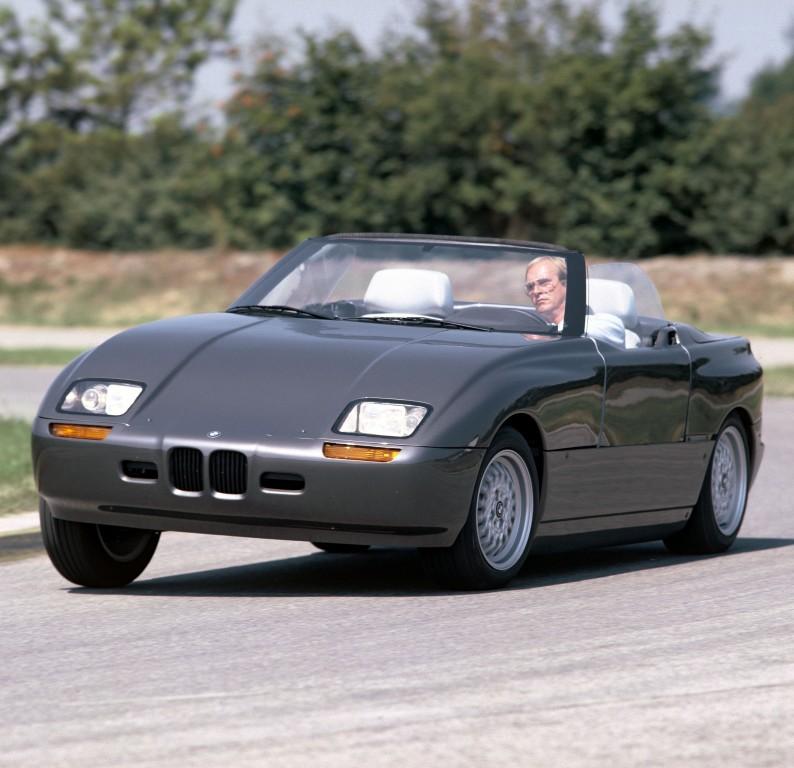 BMW Z1 - Le signe du « Z ».