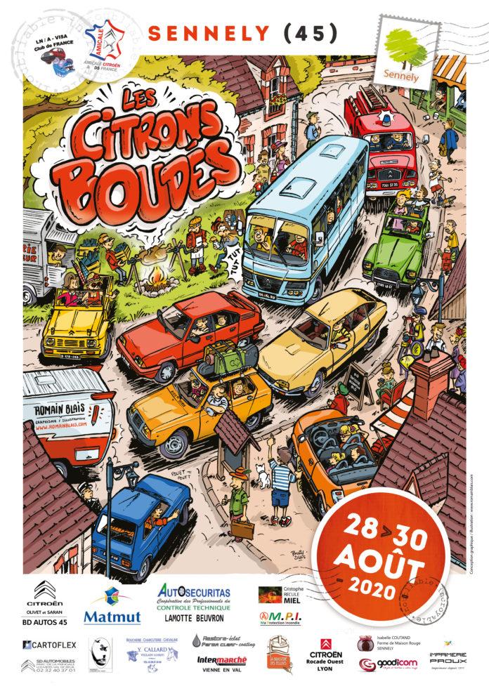 Les Citrons Boudés, la fête des autres Citroën !