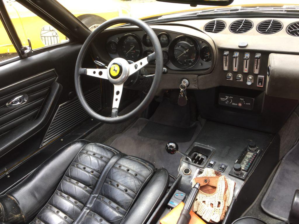FERRARI 365 GTB/4 « Daytona » La fastback à queue « Kamm » de Leonardo Fioravanti