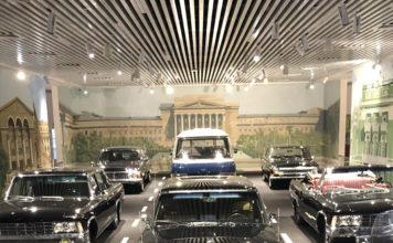 Musée de l'ingénierie automobile d'Ekaterinburg, le n°1