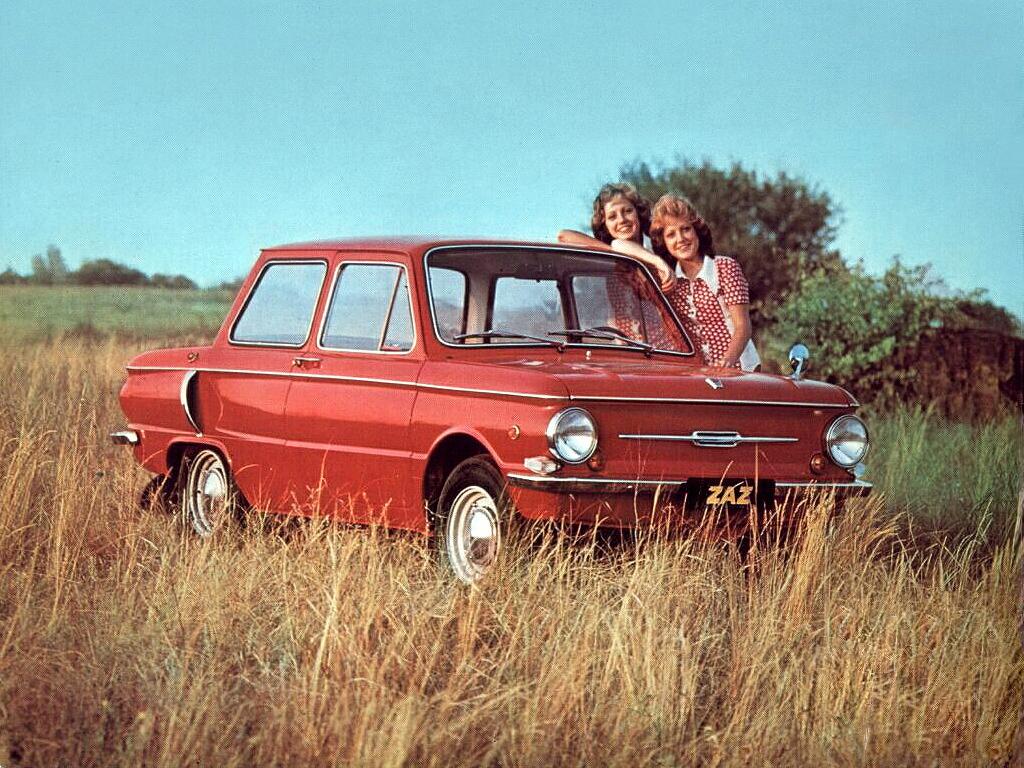 ZAZ ZAPOROJETS - La « vraie » voiture du peuple soviétique.
