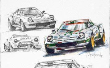 Art : La Lancia Stratos vue par les artistes
