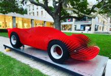 L'artiste Antoine Dufilho réinterprète la Ferrari 330 P4 du Mans