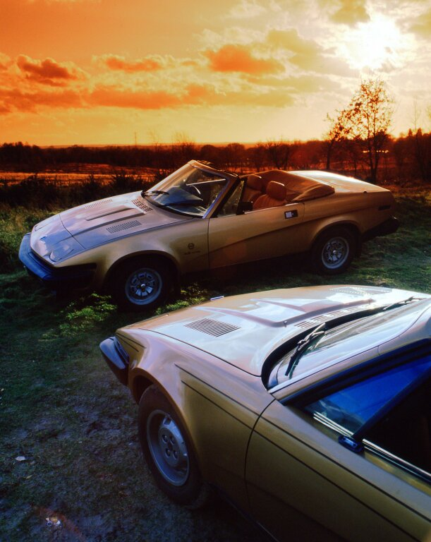 TRIUMPH TR7 et TR8 - The end of the road.