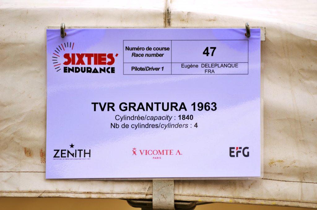 Spa Classic 2019 : Une TVR Grantura à l'assaut du Toboggan des Ardennes.