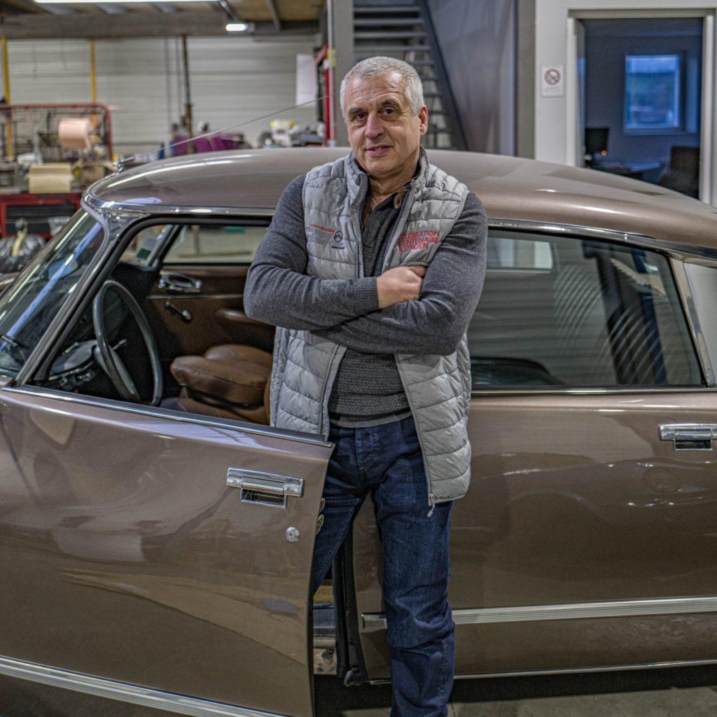 Alain Thuret, Président de l'Amicale Citroën et DS France