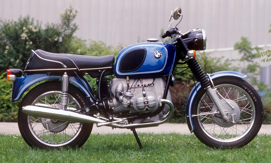 BMW R75 - La classe allemande sur deux roues.