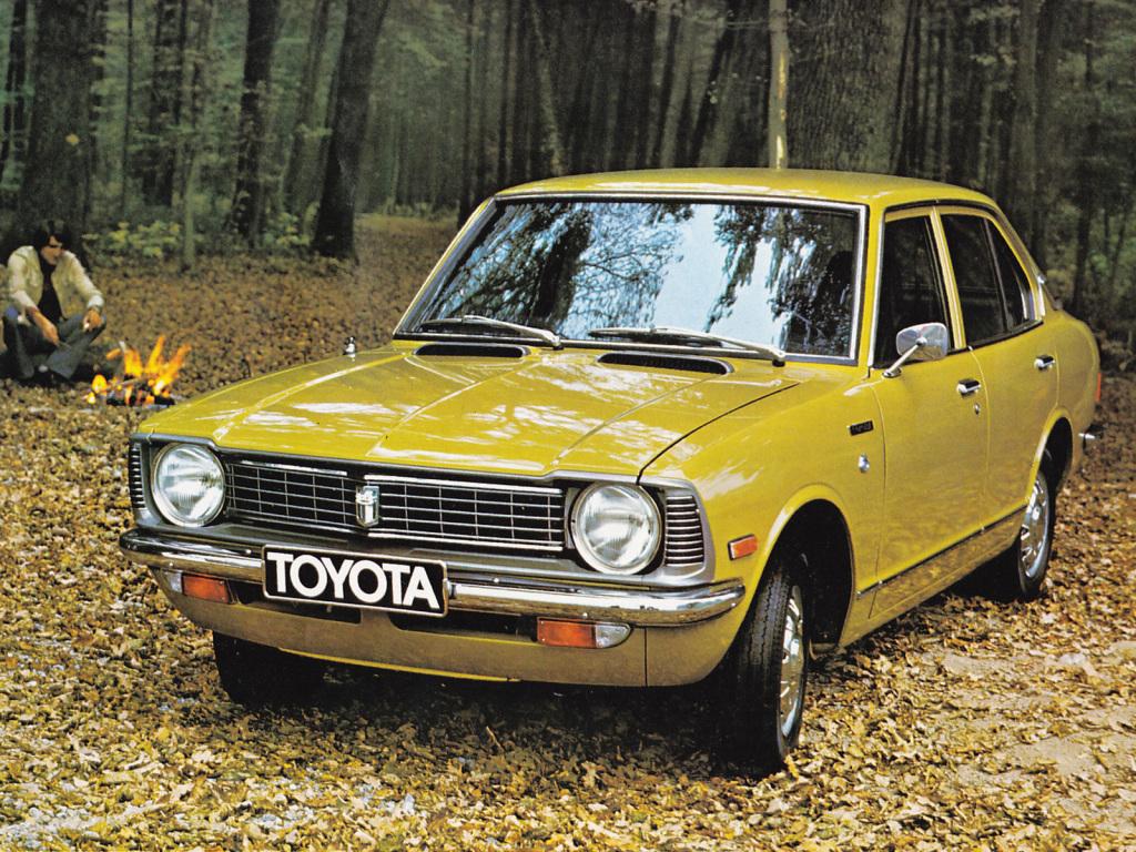 TOYOTA COROLLA - A l'aube du péril jaune.
