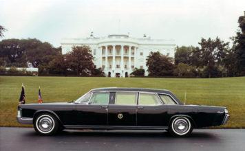 LINCOLN CONTINENTAL - Johnson, Nixon et Ford.