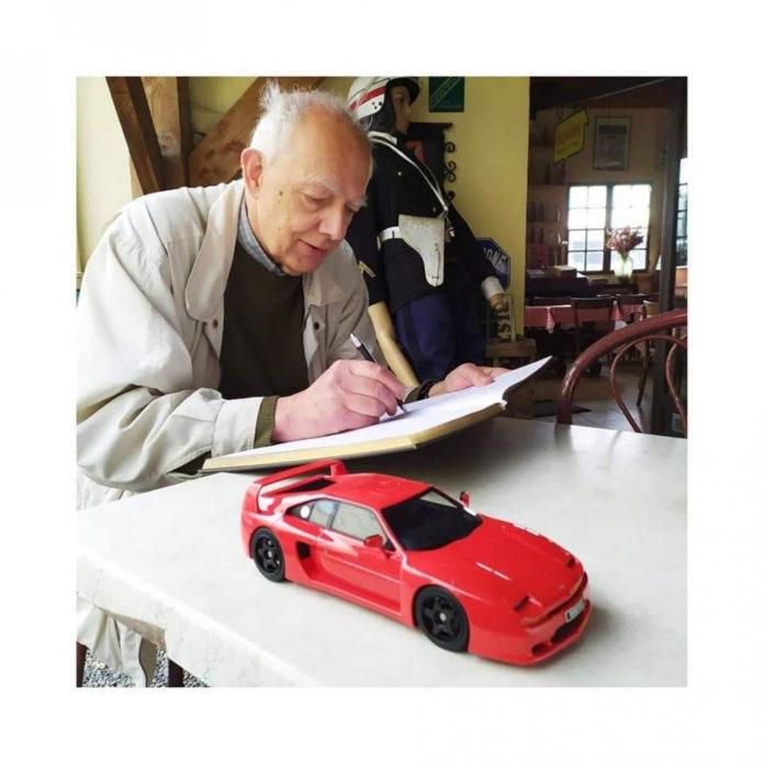 PODCAST #23 : De la Peugeot 205 à la DS Grand Palais, en passant par Venturi et Alpine. Gérard Godfroy, designer raconte