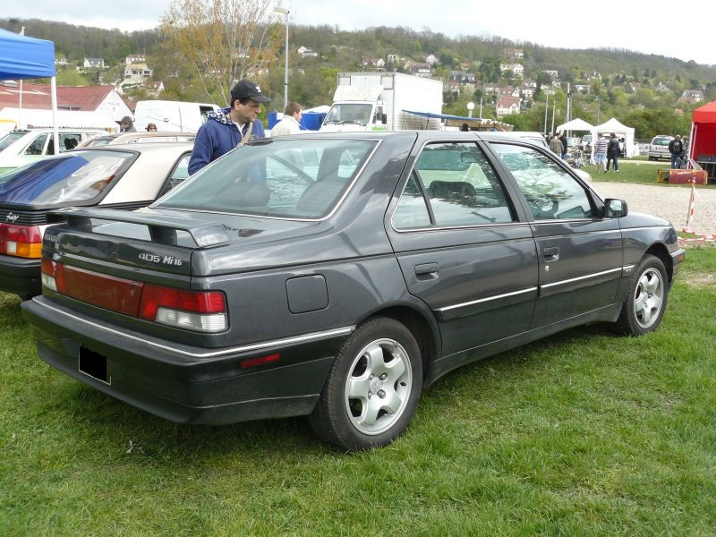 PEUGEOT 405 USA - French are going home.