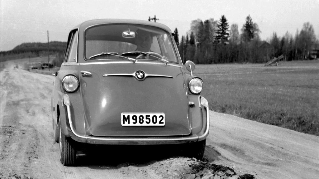 BMW 600 - La « Super-Isetta ».