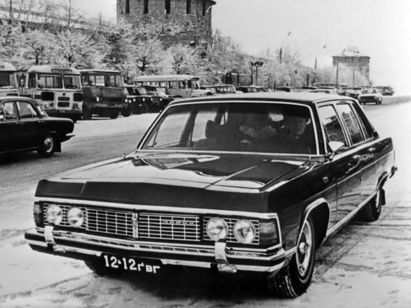GAZ TCHAÏKA -Les mouettes de la Volga